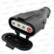 ШК-4х15 Розетка кабельная к разъему