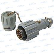 РБН1-7-18Ш4-В Вилка кабельная для приборной розетки