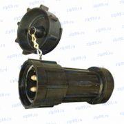 ВК-160-4В1К Вилка кабельная к разъему
